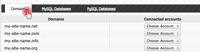 Backup Domains to Google Drive