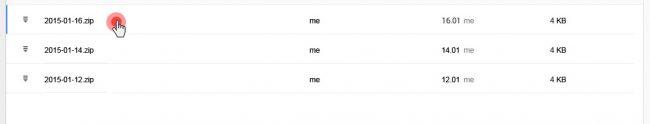 Google Drive backup folders